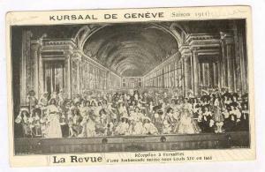Kursaal de GENEVE, Saison 1911, La Revue