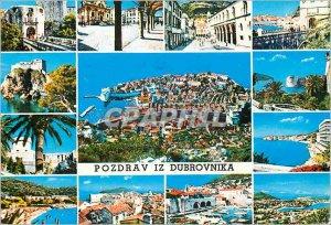 Postcard Modern Pozdrav Iz Dubrovnika