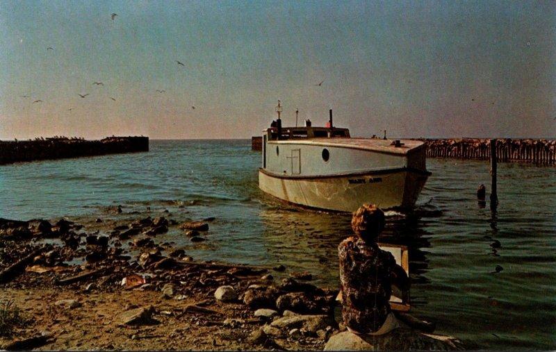 Michigan Leland Fishing Boat Mary Ann