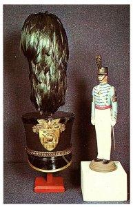 Chapeau & Figurine De Un Cadet Officer Ouest Point Militaire Carte Postale