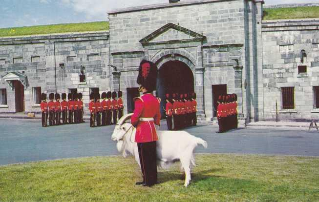 Changing of the Guard - La Citadelle QC, Quebec, Canada