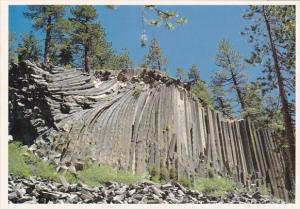 California Mammoth Lakes Devils Postpile National Monument