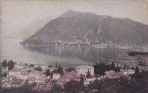Italy Lake Como Aerial View