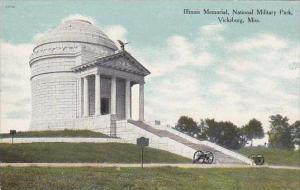 Mississippi Vicksburg Illinois Memorial National Military Park Cemetery