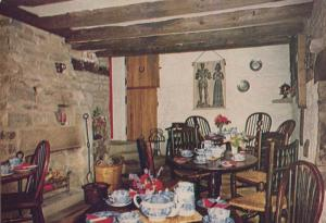 The Stables Tea Room Edensor Derbyshire Chatworth Park 1980s Restaurant Postcard