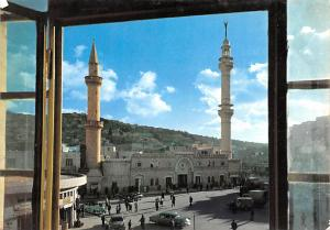 Jordan Old Vintage Antique Post Card Big Mosque Amman Unused
