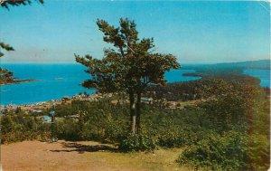 Postcard Cooper Harbor, Lake Superior, Michigan