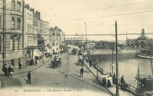 Ramsgate harbour parade 1908