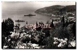 Old Postcard Villefranche Sur Mer