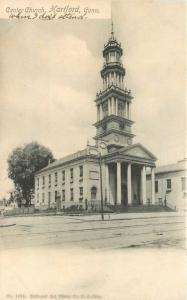 C-1905 Center Church Hartford Connecticut National Art Views undivided 2918