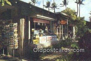 Waikiki Fotoshop, Oahu, Hawaii, Camera Postcard, Post Card Old Vintage Antiqu...