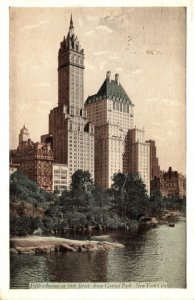 New York Fifth The Plaza Hotel 1932
