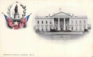 White House Washington Souvenir Co. Private Mailing Card No. 3 Unused Postcard