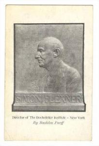ADV postcard: Bashka PAEFF, Sculptor, Carnegie Hall, New York, Studio 834, 00...