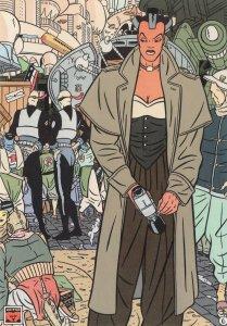 Daniel Torres Linx En Megavenus Spanish Comic Postcard
