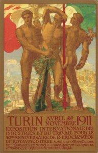 Italy Turin Avril Novembre 1911 RARE 03.43