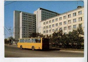 429257 USSR 1983 year Vladimir Hotel Zarya bus P/Stationery postal postcard