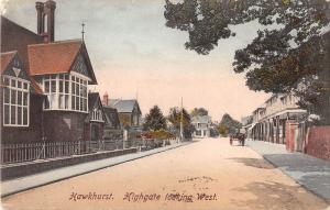 BR75134 hawkhurst highgate looking west     uk