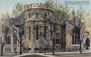 KANSAS CITY, Missouri, 1900-1910's; Westminster Congregational Church