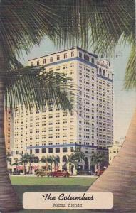 Florida Miami The Columbus Hotel 1943