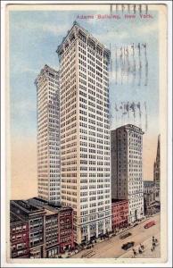 NY - New York City. Adams Building
