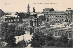 Dresden Germany Zwinger 01.18