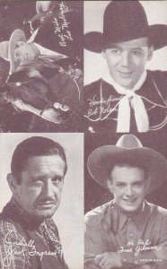 Cowboy : Leo Maloney, Bob Nolan, Jack Ingram, & Fred Gilman, 30s-40s