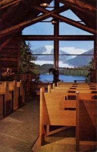 AK - Auke Bay. Chapel by the Lake, Interior (Alaska)