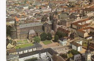 Germany Worms am Rhein Aerial View 1973