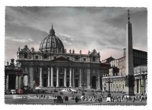 Italy Roma Rome Basilica S Pietro Cathedral 4X6 Glossy Vera Foto Photo Postcard