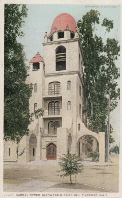 RIVERSIDE, California, 1900-10s; Glenwood Mission Inn, Carmel Tower