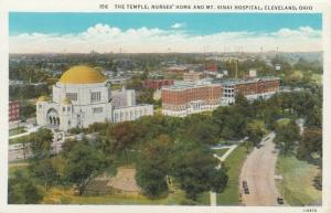 CLEVELAND, Ohio , 00-10s; Jewish Temple & Mt Sinai Hospital