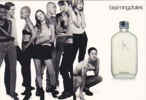 Advertising Calvin Klein Fragrances At Bloomingdales