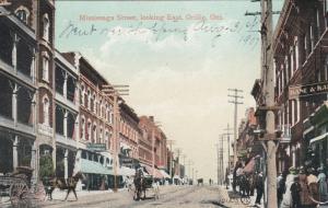 ORILLIA , Ontario , Canada , 1900-10s ; Mississaga Street, looking East