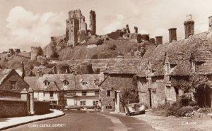 RP Dorset, England, 1930-40s ; Corfe Castle