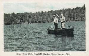 NOVER, Ontario, 1920-30s ; Men Fishing