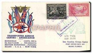 Letter Honduras Costa Rica November 20, 1943