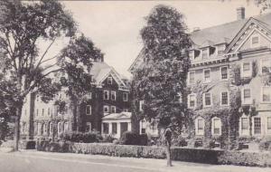 Massachusetts Northampton Northrop And Gillett Houses Smith College Albertype