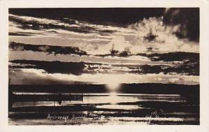 RP: Summer sunset , Anchorage , Alaska , 1930-40s