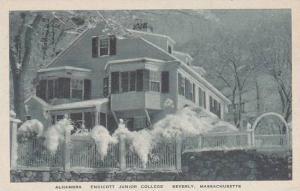 Massachusetts Beverly Alhambera Endicott Junior College Albertype