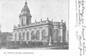 England Birmingham, St. Philip's Church
