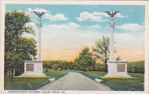 Pennsylvania Valley Forge Pennsylvania Columns