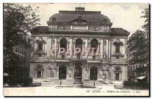 Old Postcard Lyon Célestins Theater