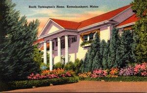 Maine Kennebunkport Booth Tarkington's Home 1953