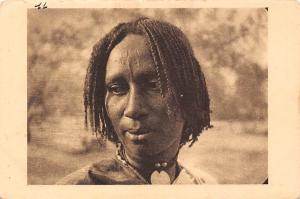 Chad Tchad - Femme de Fort Lamy, Afrique Ecuatorial Francaise
