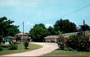 North Carolina Rowland Rest-A-While Motel 1964