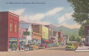 North Carolina Andrews Main Street