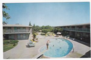 Swimming Pool , Continental Garden Motel , REDWOOD CITY , California , 50-60s