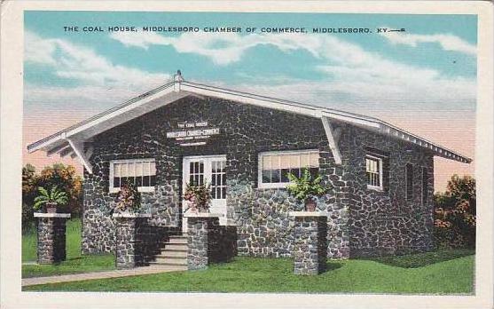 Kentucky Middlesboro The Coal House Middleesboro Chamber Of Commerce