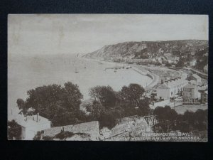 Great Western Railway Official Series 4 OYSTERMOUTH BAY Gower c1914 Postcard